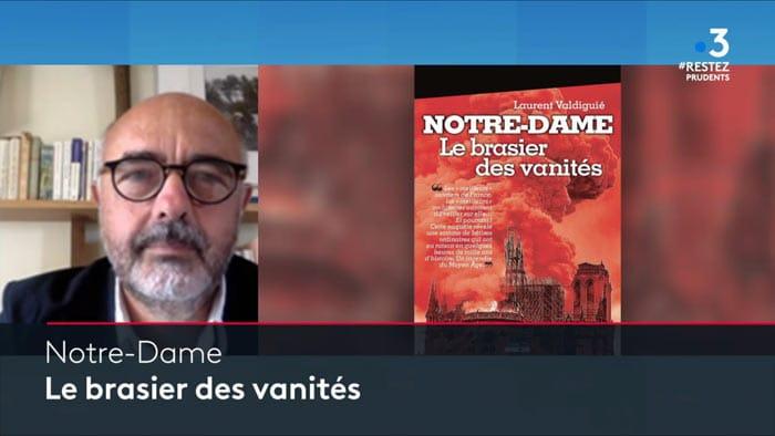 L. Valdiguié invité du 12/13 sur France 3