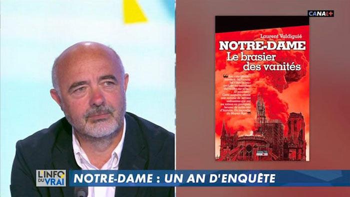Laurent Valdiguié invité d'Yves Calvi sur Canal+